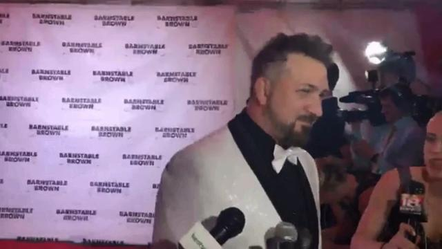 Long-time attendee of the party Joey Fatone talked about fun times at Derby and the Barnstable Brown Gala.