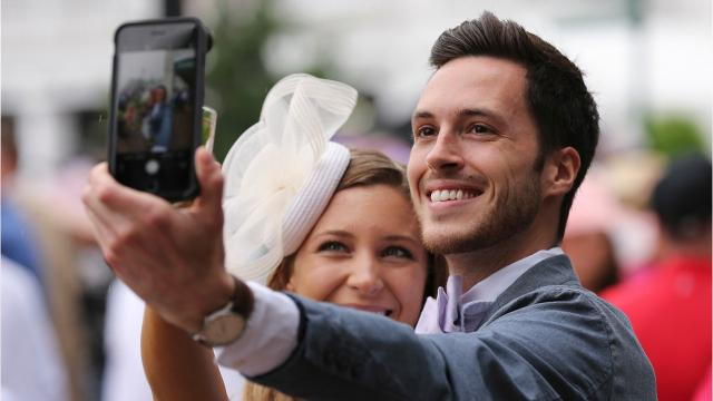 From the sloppy track to fancy hats, here are some of the sights from Kentucky Derby 2018 at Churchill Downs.