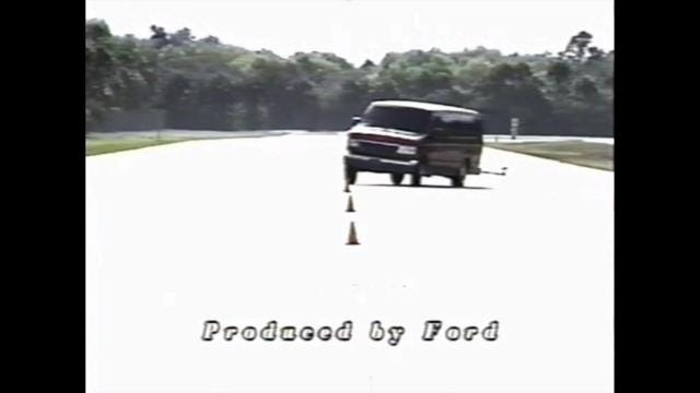 Ford test-drive video of E350 15-passenger van