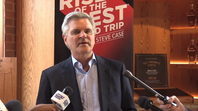 AOL co-founder and entrepreneur Steve Case talks about why he is promoting local startups in Louisville as part of his Rise of the Rest tour. May 11, 2018