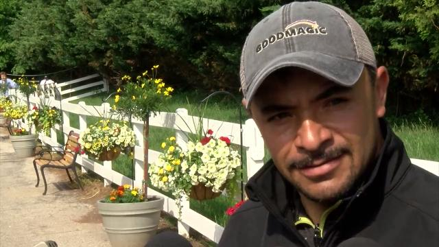 Hernandez, assistant to Chad Brown, the trainer of Good Magic, talked about getting the horse ready for the race.