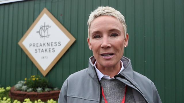 Former jockey and NBC color analyst Donna Barton Brothers makes her 2018 Preakness Pick.