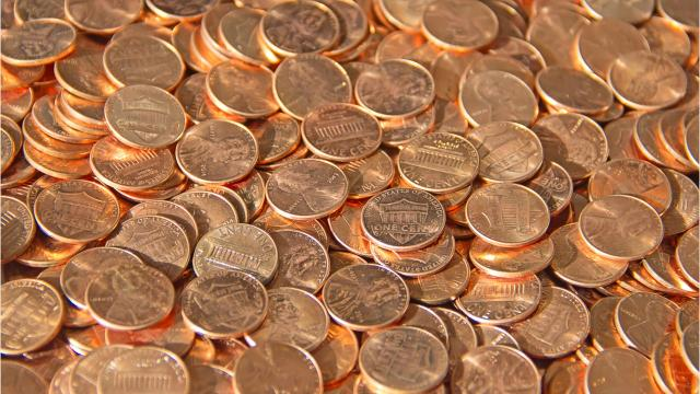 Feeling lucky? Take a penny!
