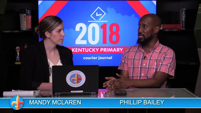 Courier Journal reporters Phillip Bailey and Mandy McLaren break down of Kentucky's primary election results.