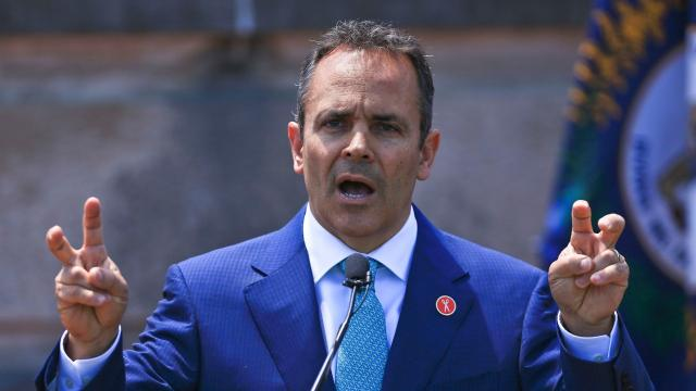 Kentucky Gov. Matt Bevin tells people to come straight to his social media accounts for all they need to know about what he's up to, but he doesn't mention that he'll block you if he doesn't like what you say.