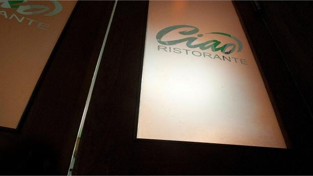 Chef Colin Wakeling had no experience with Italian food, but a process of trial and error led him to make some delicious meals at Ciao.