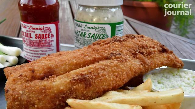 Mike Linnig's specializes in fried fish, but their battered and breaded menu is fully of variety - and crunch! Try not to let your taste buds water as you take a peek at the menu.