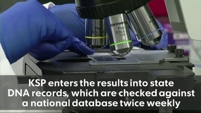 A statewide audit in 2015 found Kentucky had 3,090 untested rape kits. The Kentucky State Police forensic laboratory has facilitated the testing of kits for DNA evidence through a laboratory in Utah.