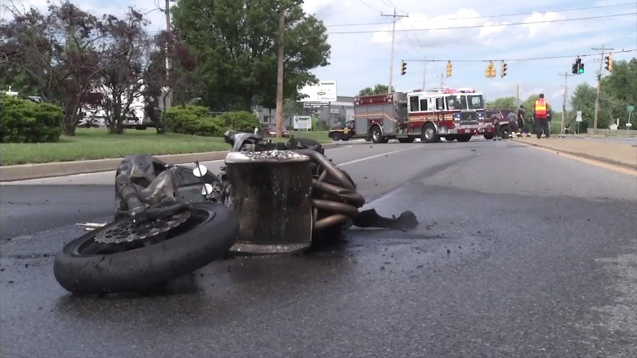 Motorcyclist killed in weekend crash