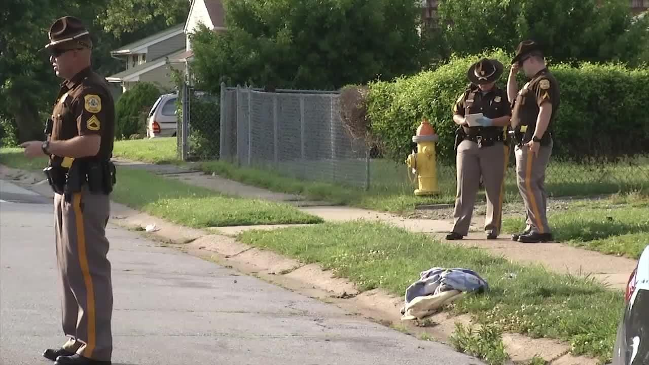 A 45-year-old man was shot in the back Saturday near New Castle.  6/26/17