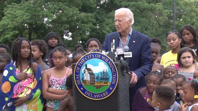 Pool in Wilmington renamed after Joe Biden