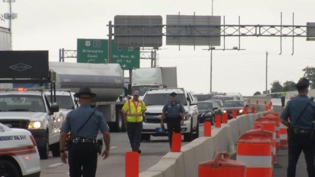 Crash shuts down westbound I-295