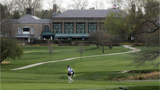 The DuPont Country Club is officially for sale