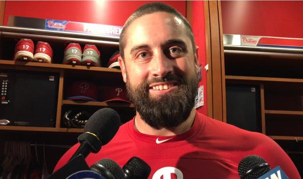 Neshek: Being traded from Phillies 'bittersweet'