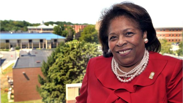 Published July 31, 2017: For the first time in Delaware State University's 126-year history, a woman will serve as chair of its Board of Trustees. On June 15,2018, Mishoe was named DSU president.