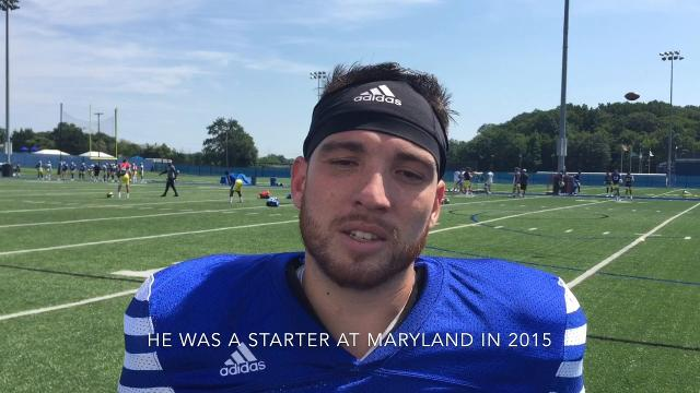 Former Maryland punter now with Hens