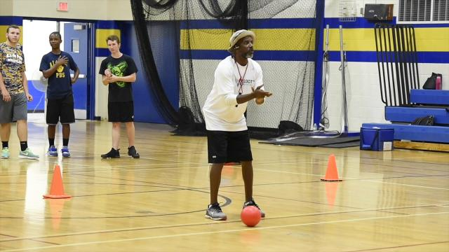 Athletic camp at A.I. duPont High School helps students balance academics with athletics.