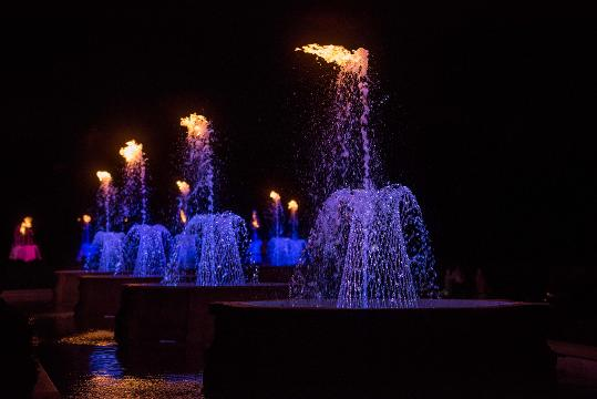 How Longwood Allows Fire To Dance On Water