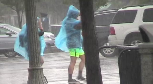 Raw video: Storm slams Rehoboth Beach