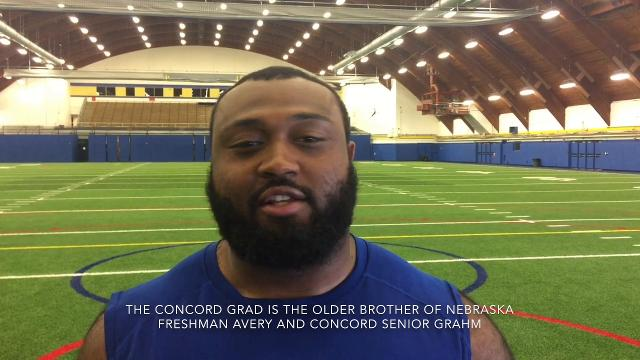 Defensive lineman walk-on from Concord has been steady contributor
