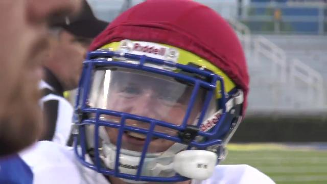 Blue Hen backup: 'I have to be here'