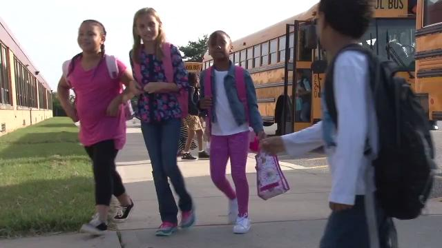 Delaware students return to school