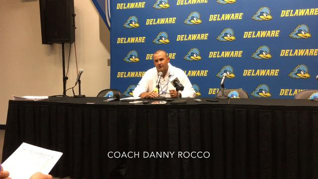 Blue Hens come alive late to thwart Hornets