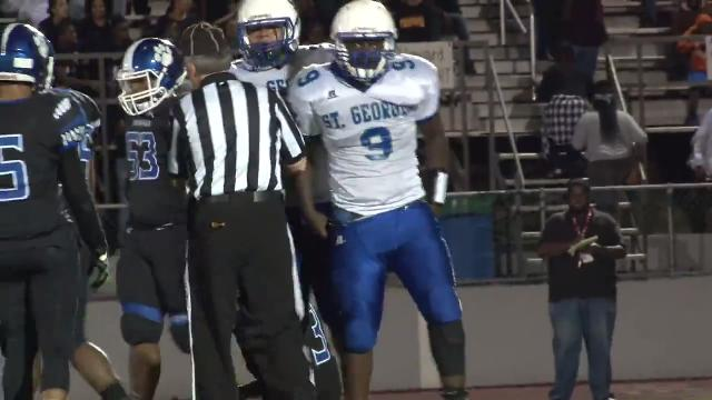 St. Georges finds yards through the middle