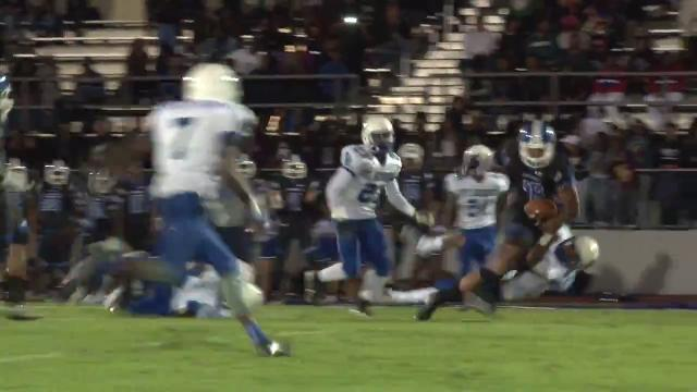 Howard's Bowman makes late 2nd quarter reception