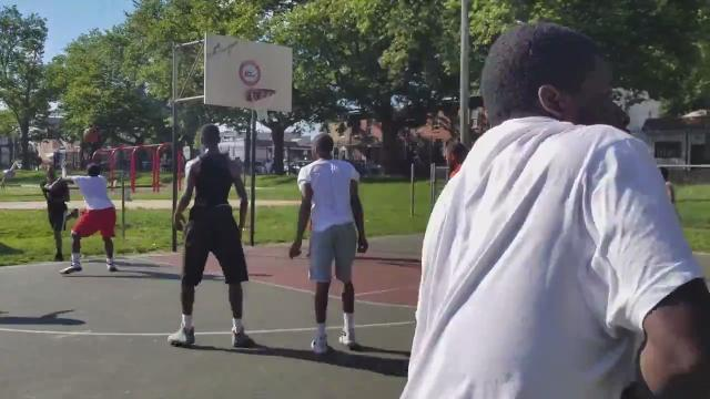 Raw Video: Shooting at Judy Johnson Park in Wilmington