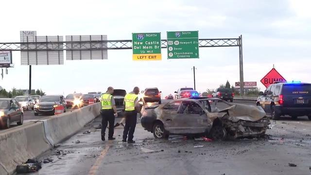 Fatal crash in Wilmington shuts down I-95 for hours