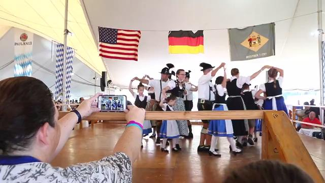 This year's Oktoberfest at the Delaware Saengerbund in Ogletown (in video above) will be held Sept. 21-23, 2018. A new Oktoberfest celebration at Wilmington's Constitution Yards Beer Garden in Wilmington will be held this weekend, one week prior.
