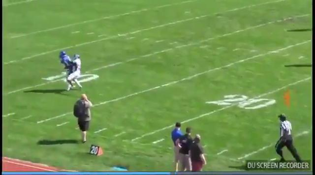 Brandywine's Michael Rayman 49-yard pass from Jack Russell
