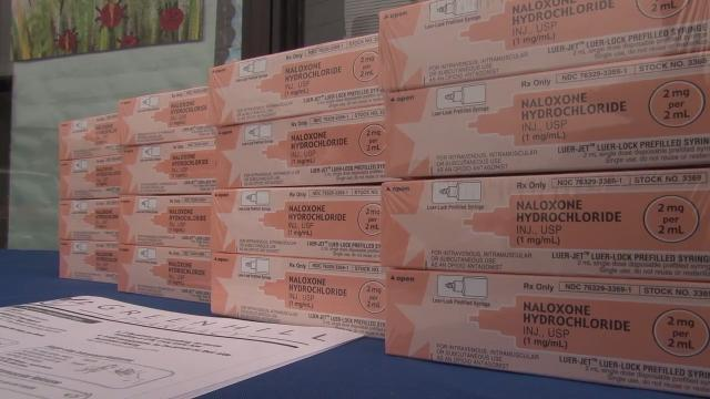 Donation gets naloxone in the hands of volunteer firefighters
