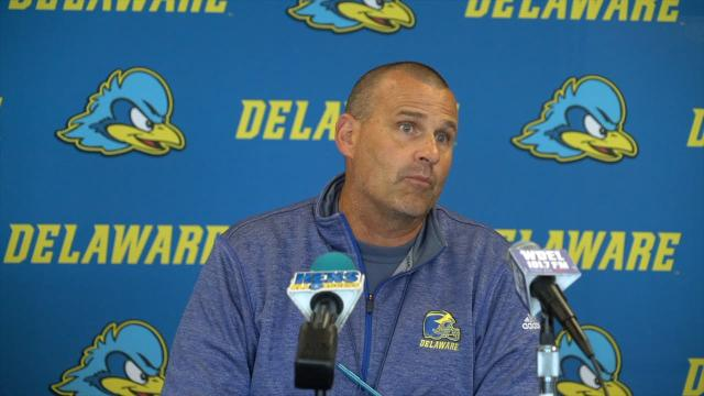 University of Delaware football coach Danny Rocco discusses using the bye week to prepare for FCS defending champion James Madison University.
