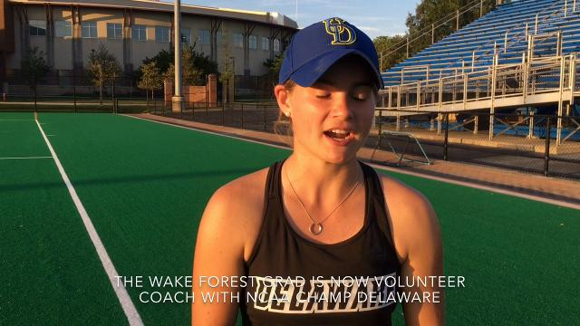 Following in late mother's coaching footsteps
