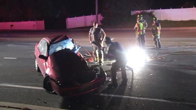 A crash early Tuesday in Pike Creek killed one person and shut down Limestone Road during the morning rush hour.  9/26/17