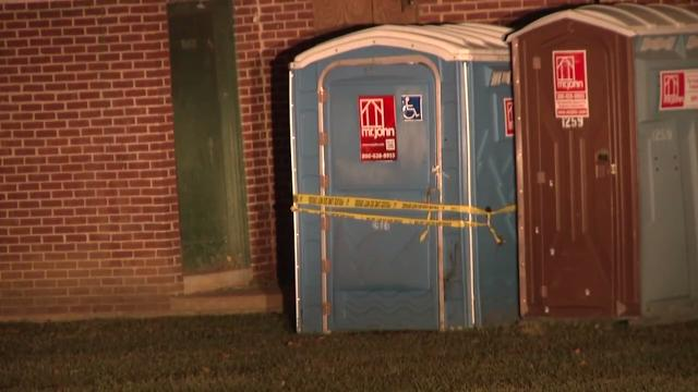 Woman found stabbed to death inside park toilet