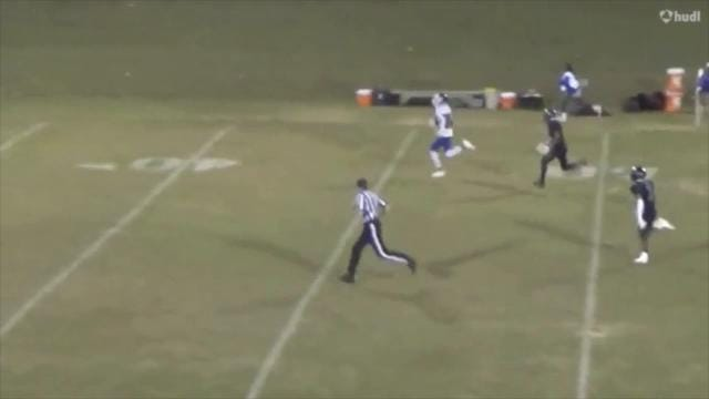 Charter of Wilmington's Fred Durham catches 88-yard touchdown pass in traffic