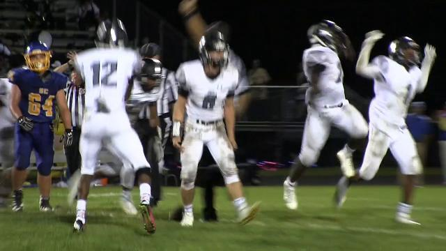 Sussex Tech recovers a fumble