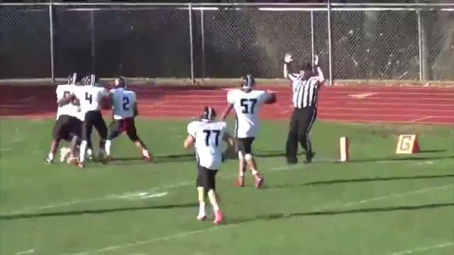 Miraculous fumble gives William Penn football win