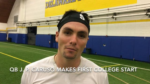 Hens QB Caruso relishes first start