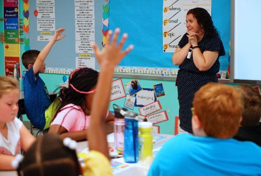 Olive B. Loss Elementary school gets National Blue Ribbon Award