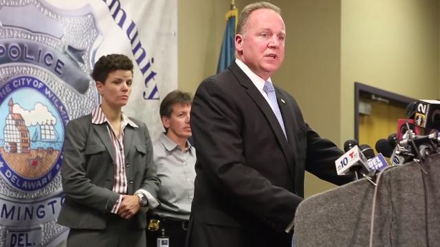 Wilmington Police Chief Robert Tracy held a press conference Wednesday afternoon to update the public on the Maryland and Delaware shootings and the suspect Radee Prince.