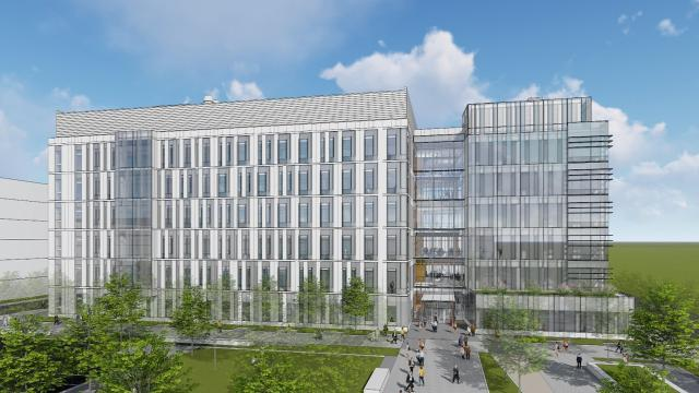 The Biopharmaceutical Innovation Building keeps Newark and the university at the forefront in efforts to mass produce cutting-edge biopharmaceuticals.