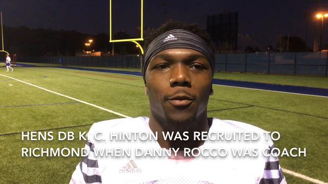 "Hinton: ""I told people, too. 'We're in good hands.' """