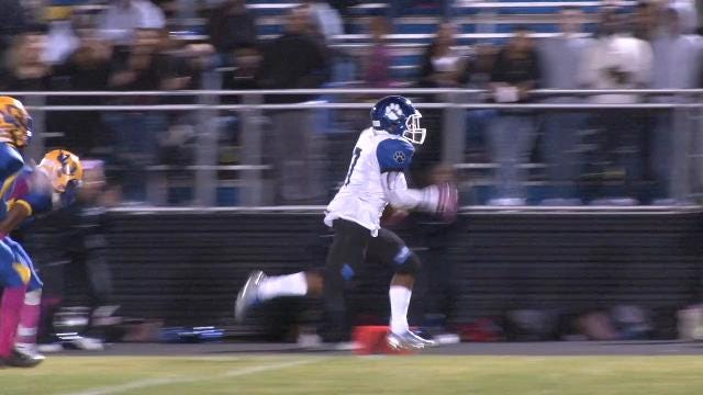 Chung takes Harley pass 80 yards for TD