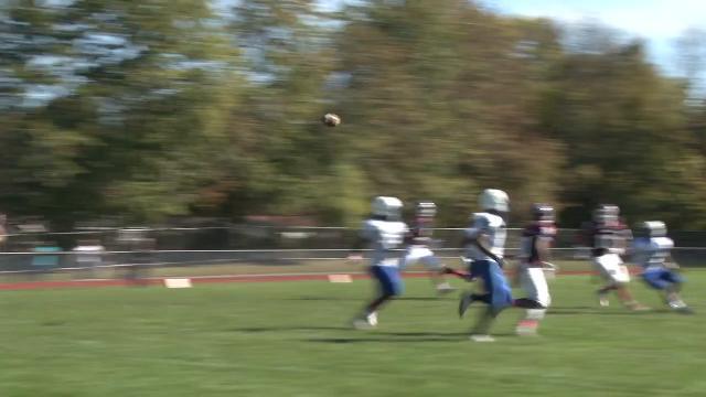 Shorts intercepts Tommer pass