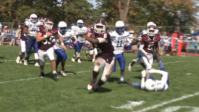 Bam Roberts runs in fourth TD of game