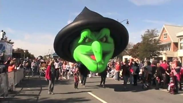 Thousands gathered in Rehoboth Beach for the 28th Annual Sea Witch Halloween & Fiddlers' Festival parade in 2017.